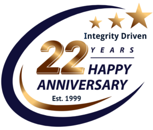 22nd ANIVERSARY LOGO-APPROVED